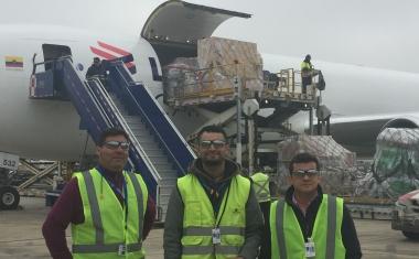 Tercera visita del año al Boeing 767-300F